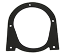 56-57 Outlet Air Duct (01934) to Fender Apron Seal (Right)