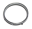 57 SpeedometerTrim Ring, Chrome