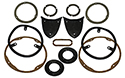 55 Exterior Light Gasket Set, With Out Back Up Lights