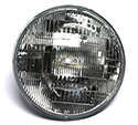 55/57 12 volt FoMoCo etched Halogen Headlight Bulb