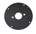 55-57 Heater Motor Mounting Round Plate