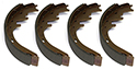 Brake Shoes 11 1/32 x 2 1/2 inches