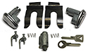 Door & Ignition Lock Set, with keys and mounting parts