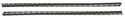 55/57 Thunderbird Rear Brake Line Springs, Pair