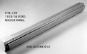 55/56 LH Outer Rocker Panel manufactured by EMS