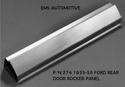 55/56 LH Rear Door Outer Rocker Panel manufactured by EMS