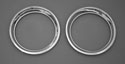 55-57 Outside Porthole Rings, Chrome