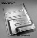 52/54 Ford pass car LH Front Floor Pan manufactured by EMS