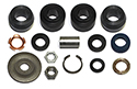 57-60 Steering Ram Seal & Mount Kit, Late Ram