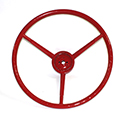 57 Thunderbird Steering Wheel, Red