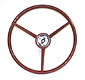 57 Thunderbird Steering Wheel, Bronze