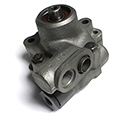 Late 57 Eaton Power Steering Pump, (Rebuilt), Late Type,R&R ONLY