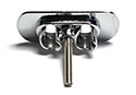57 Thunderbird Rear Deck Receptacle with Studs, RH