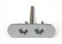 56 Rear Deck Receptacle With Studs, (Left)