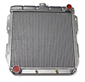 55/57 Thunderbird Aluminum Radiator with Cooler