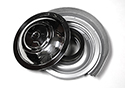 55 Thunderbird Reproduction Air cleaner with polished stainless steel top, paper filter type