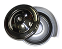 57  Thunderbird Reproduction Air Cleaner Assembly with polished stainless steel top
