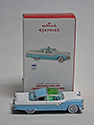 55 Blue/White Ford Fairlane Crown Victoria Christmas Ornament