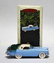 1956 Blue Thunderbird Christmas Ornament