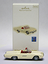 1963 White Thunderbird Christmas Ornament