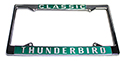 Classic Thunderbird License Plate Frame, Pair