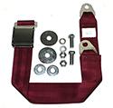 Maroon Seat Belt , Long