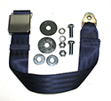 Dark Blue Seat Belt