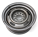 14 x 6 inch Replacement Steel Wheel, each