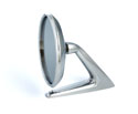61-62 Round Head Mirror, With Rubber Pad
