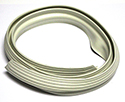 61/66 Thunderbird Conv't Top Front  Weatherstrip, White