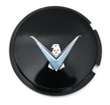 58 / 62-63 Landau Roof Emblem, Black