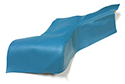 58 Turquoise Rear Arm Rest Covers