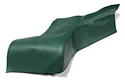 60 Green Rear Arm Rest Covers