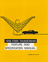 58 Thunderbird Feature and Specification Manual