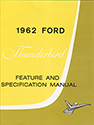 62 Thunderbird Feature and Specification Manual