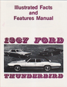 67 Thunderbird Features and Specification manual