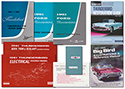 61 Convertible Manual Set, 8 Manuals