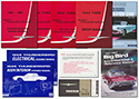 1965 Thunderbird Convertible Manual Set, 9 manuals