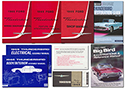 1965 Thunderbird Hardtop Manual Set, 8 manuals