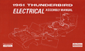 61 Thunderbird  Electrical Assembly Manual