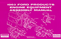 1963 Ford Engine Equipment and Assembly Manual