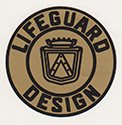 Lifeguard door lock decal