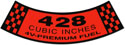 66-67 Air Cleaner Decal, 428