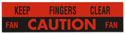 60-66 Caution Fan Decal