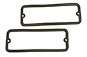 61-64 Lincoln Turn/Back-Up Light Lens Gaskets, Pair
