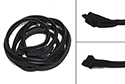 64-65 Lincoln 4 Door Sedan And Convertible, Front Door Weatherstrip, Pair