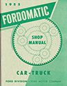 55 Fordomatic Transmission  manual