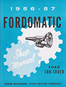 56/57 Fordomatic Transmission Manual